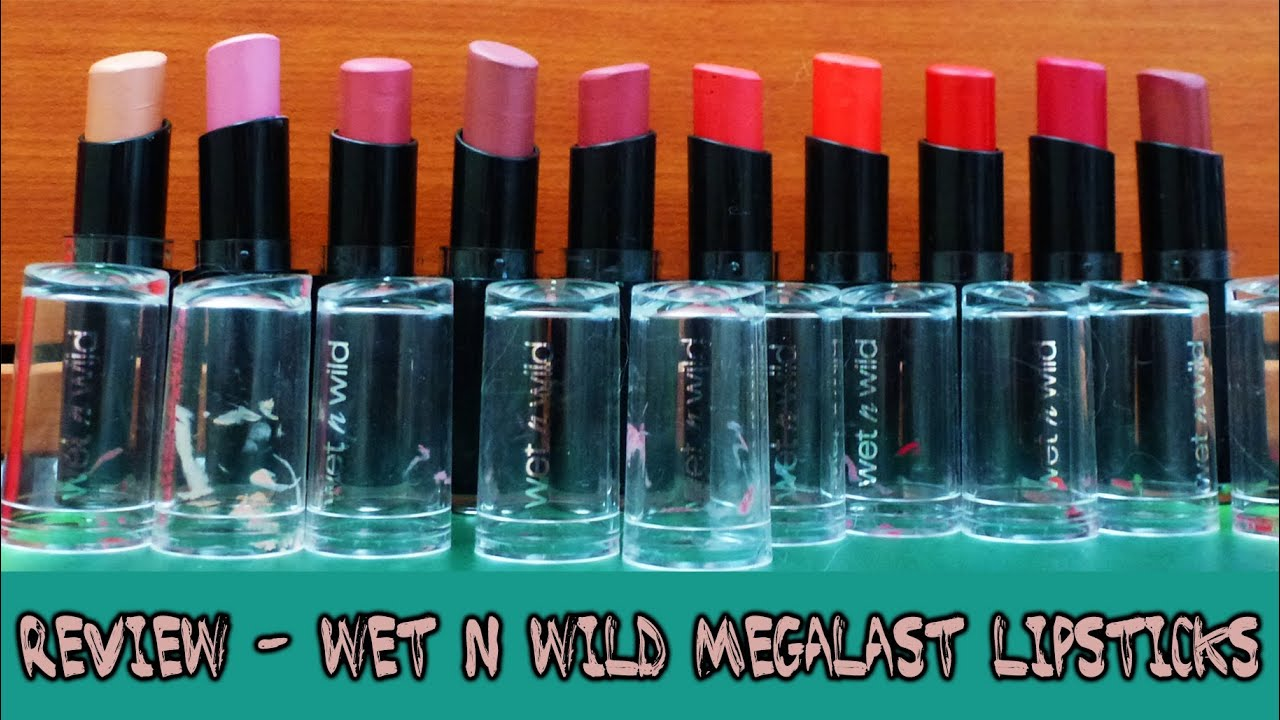 wet and wild matte lipstick review