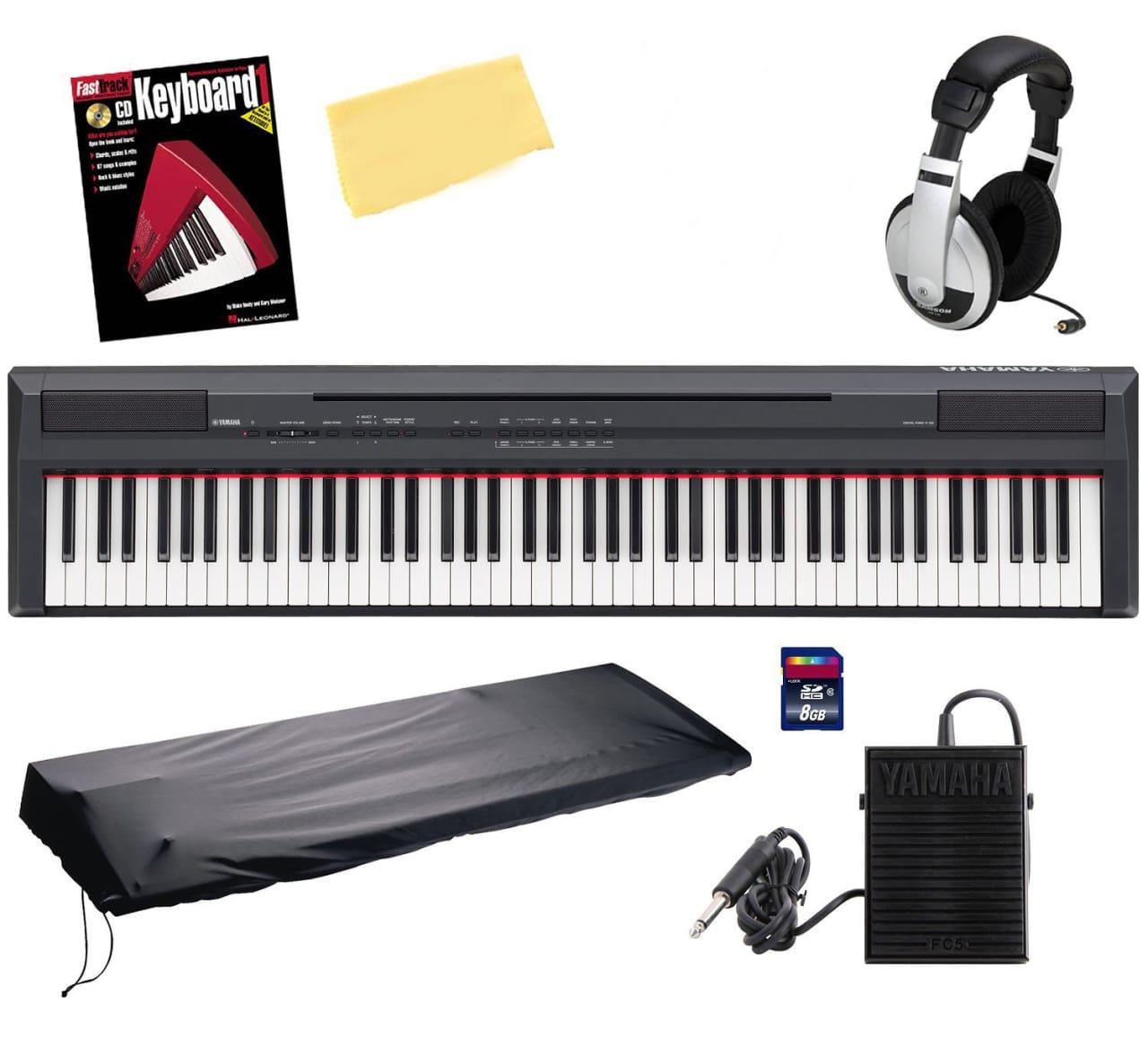 yamaha p105b digital piano review